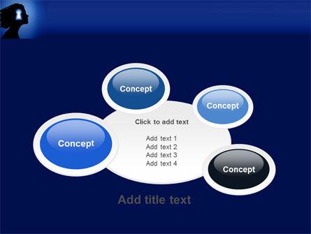 Female Mind PowerPoint Template Slide 16