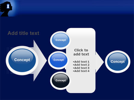 Female Mind PowerPoint Template Slide 17