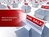 Construction: Real Estate In Massive Sale PowerPoint Template #04307