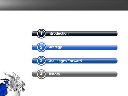 Modern Civilization PowerPoint Template, Slide 3, 04309, Global — PoweredTemplate.com