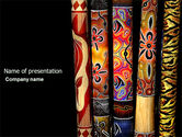 Art & Entertainment: Wind Instrument PowerPoint Template #04314
