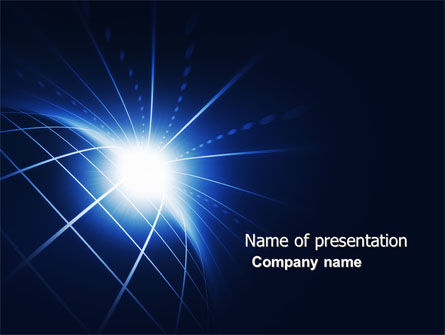 Global: Shining Horizon PowerPoint Template #04315