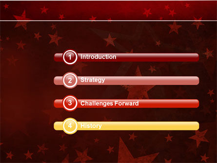 Star Of The Best PowerPoint Template, Slide 3, 04316, Holiday/Special Occasion — PoweredTemplate.com