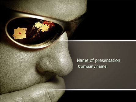 Gambler PowerPoint Template, 04317, Sports — PoweredTemplate.com