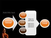 Buddhist Monk PowerPoint Template#17