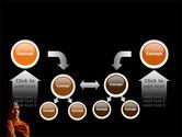 Buddhist Monk PowerPoint Template#19
