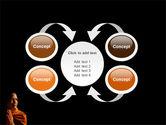 Buddhist Monk PowerPoint Template#6