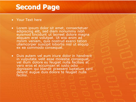 Mobile Service Provider PowerPoint Template, Slide 2, 04320, Telecommunication — PoweredTemplate.com