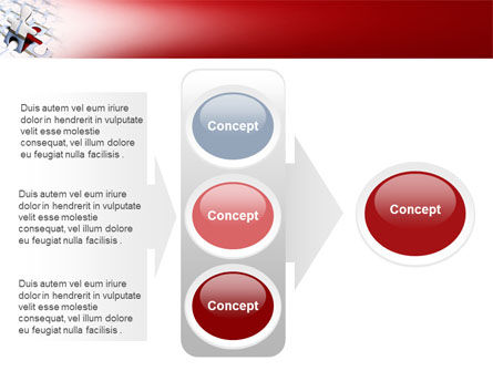Jigsaw Man PowerPoint Template Slide 11
