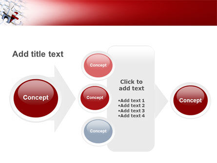 Jigsaw Man PowerPoint Template Slide 17