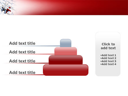 Jigsaw Man PowerPoint Template Slide 8