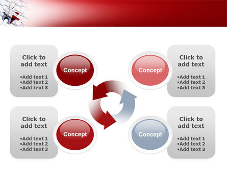 Jigsaw Man PowerPoint Template Slide 9