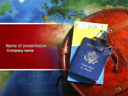 Travel Essentials PowerPoint Template