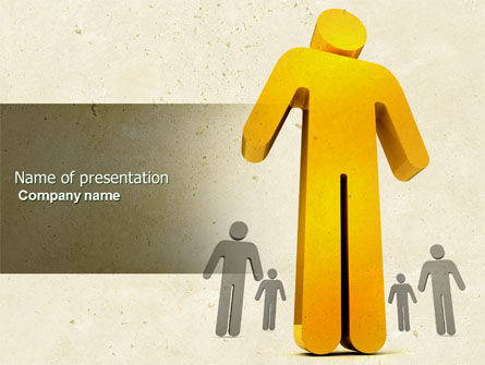 Business Concepts: Self-actualization PowerPoint Template #04337