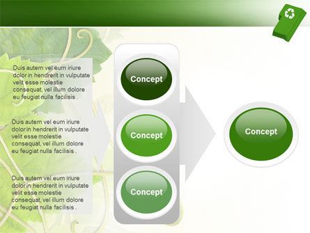 Recycling Technology PowerPoint Template Slide 11