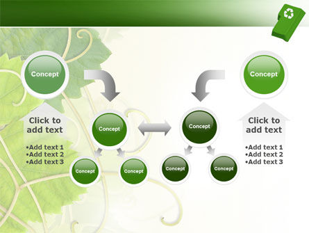 Recycling Technology PowerPoint Template Slide 19