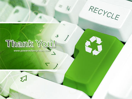 Recycling Technology PowerPoint Template Slide 20