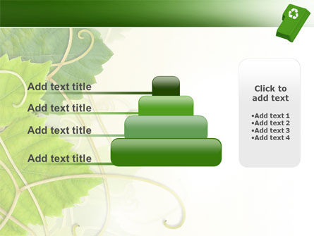 Recycling Technology PowerPoint Template Slide 8