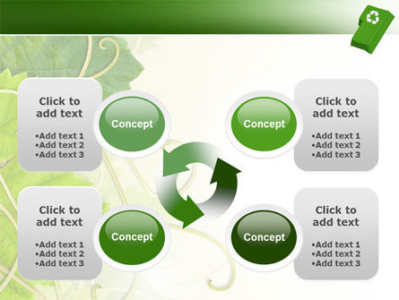 Recycling Technology PowerPoint Template Slide 9
