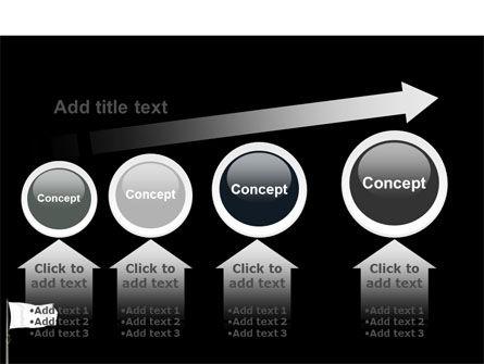 White Flag PowerPoint Template Slide 13