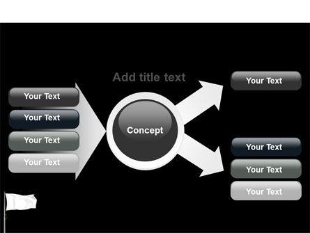 White Flag PowerPoint Template Slide 14