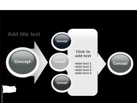 White Flag PowerPoint Template Slide 17