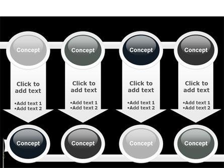 White Flag PowerPoint Template Slide 18