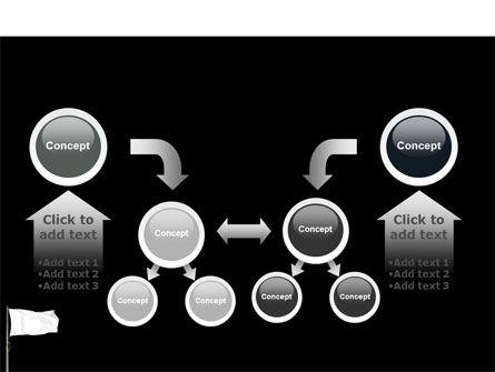 White Flag PowerPoint Template Slide 19
