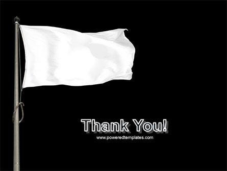 White Flag PowerPoint Template Slide 20