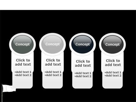 White Flag PowerPoint Template Slide 5