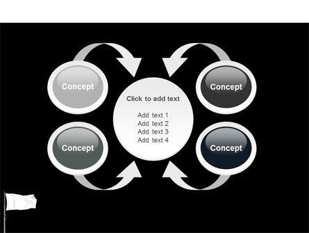 White Flag PowerPoint Template Slide 6