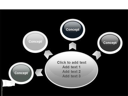 White Flag PowerPoint Template Slide 7