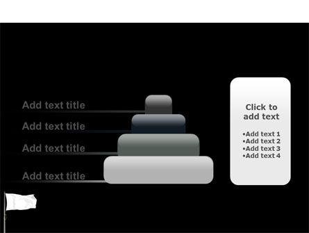White Flag PowerPoint Template Slide 8