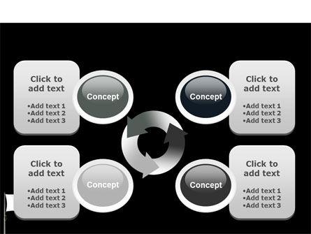 White Flag PowerPoint Template Slide 9