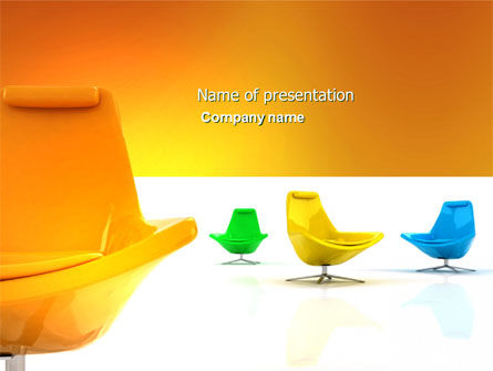 Careers/Industry: Comfortable Interior PowerPoint Template #04344