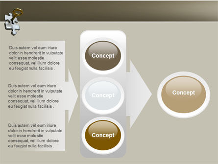 Key to Everything PowerPoint Template Slide 11