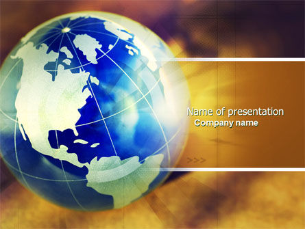 Troubled World PowerPoint Template