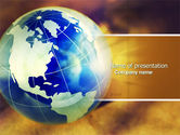 Global: Troubled World PowerPoint Template #04349