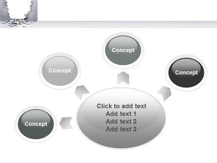 Broken Wall PowerPoint Template Slide 7