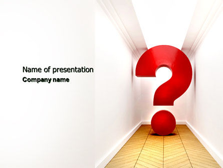 Dead End PowerPoint Template