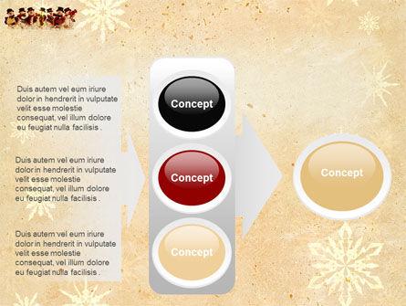 Snowmen Orchestra PowerPoint Template Slide 11