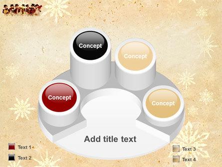 Snowmen Orchestra PowerPoint Template Slide 12