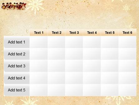 Snowmen Orchestra PowerPoint Template Slide 15