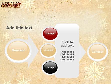 Snowmen Orchestra PowerPoint Template Slide 17