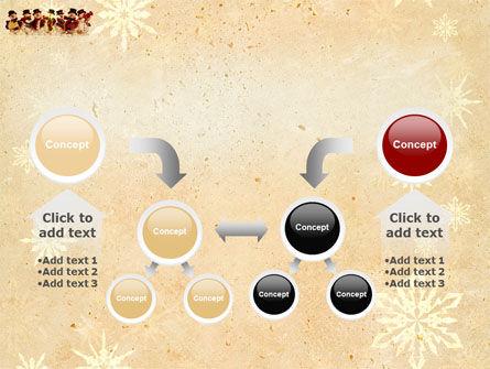 Snowmen Orchestra PowerPoint Template Slide 19