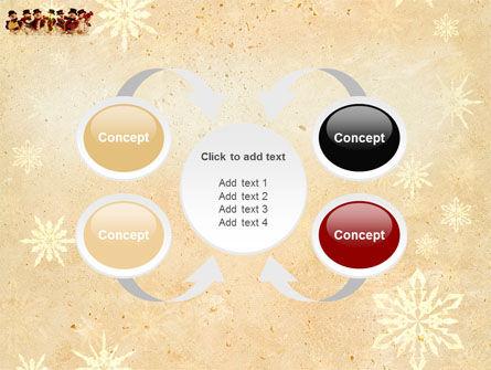 Snowmen Orchestra PowerPoint Template Slide 6