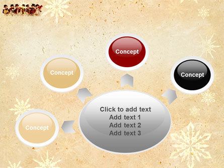Snowmen Orchestra PowerPoint Template Slide 7