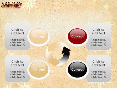 Snowmen Orchestra PowerPoint Template Slide 9