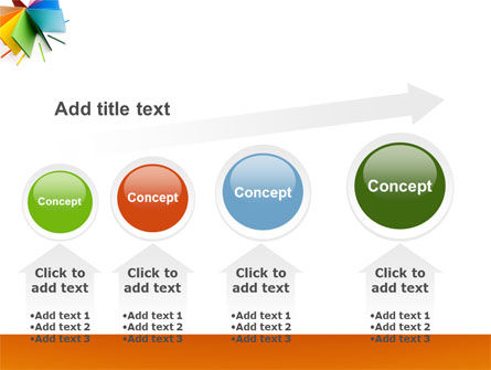 Color Paper PowerPoint Template Slide 13