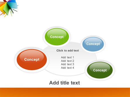 Color Paper PowerPoint Template Slide 16